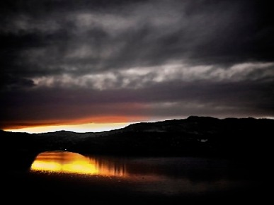 Horsetooth Reservoir Sunset