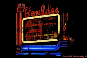Old School Boulder Theatre!