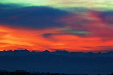 """Rocky Mountain Sunset"""