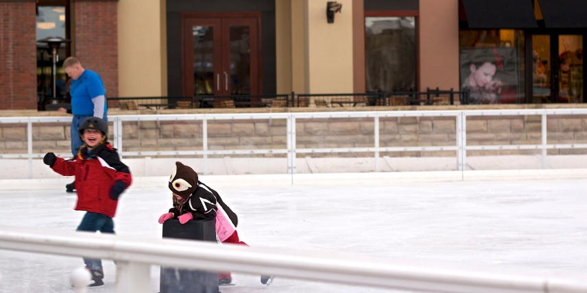 Skating rinks are already open here in Colorado!