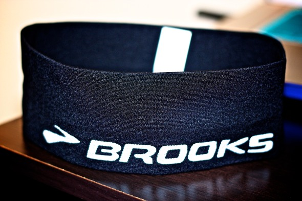 Brooks Running Headband, so comfortable...the best!