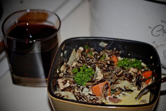 Pheasant Wild Rice Soup!