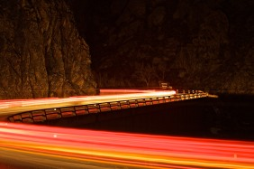 Big Thompson Canyon - Night Traffic