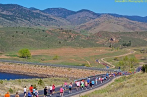 Beautiful Horsetooth Half Marathon