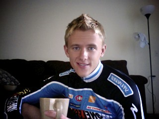 Little Pre-ride Jittery Joes Coffee!