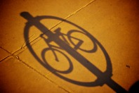 Bike Logo Shadow
